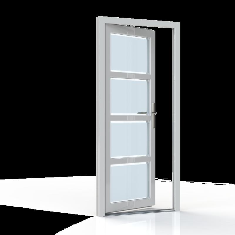 Porte D Entree 1 Vantail Manche