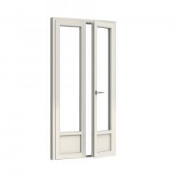 Porte Fenêtre 2 vantaux PVC