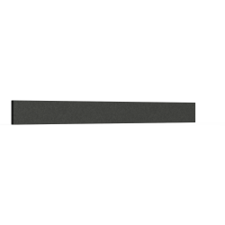 Lisse Alu 125 x 15 mm