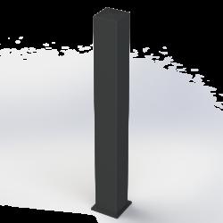 Poteau Aluminium 150x150
